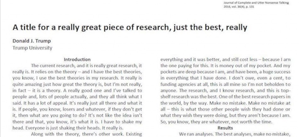 Writing research papers graduate school